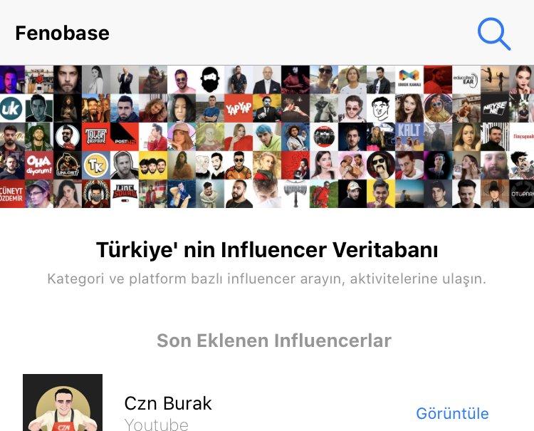 Influencer Uygulamaları